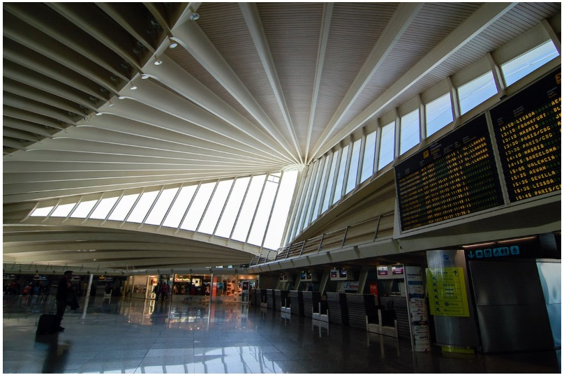 Spain's Bilbao Airport