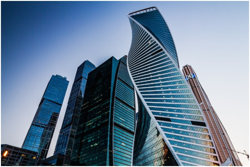 The Evolution Tower in Moscow