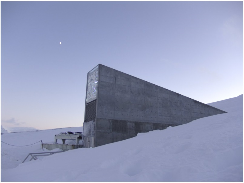 The beautifully designed Svalbard Global Seed Vault