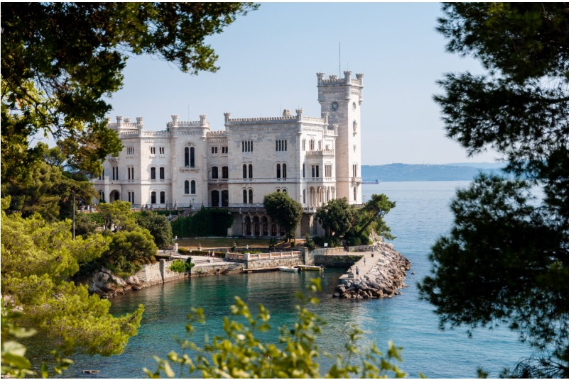 The spectacular Miramare Castle