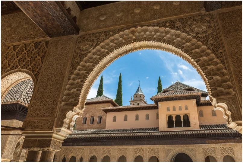 A historic palace in Granada, Spain