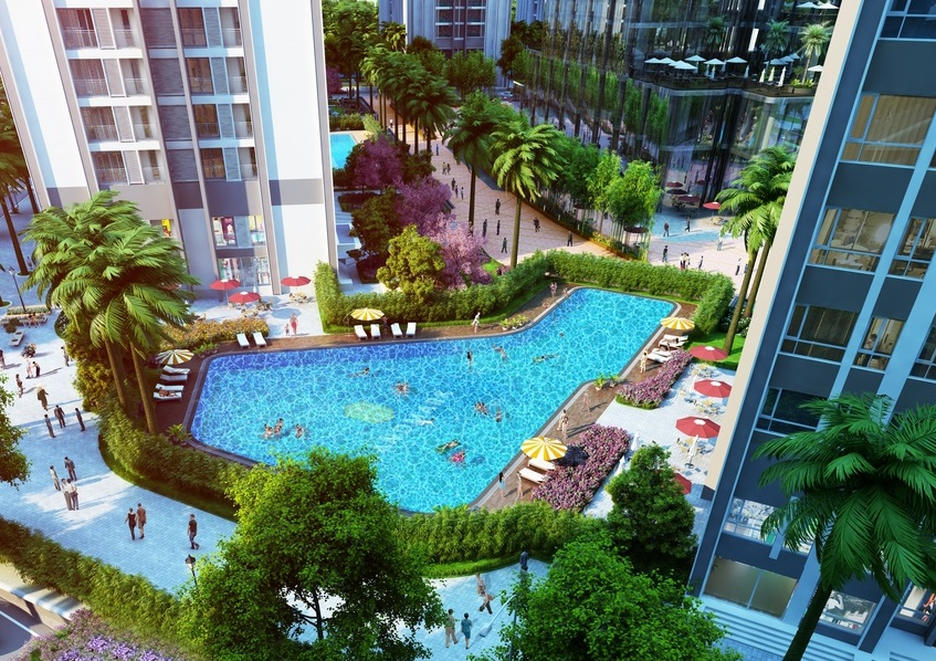 Открытый бассейн Landmark81