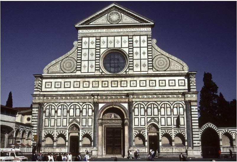 The 15th-century Basilica of Santa Maria Novella