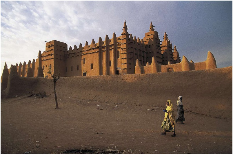 The Great Mosque of Djenné in Mali