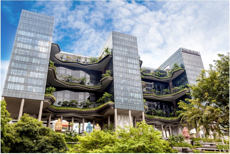 The Hotel Parkroyal in Singapore