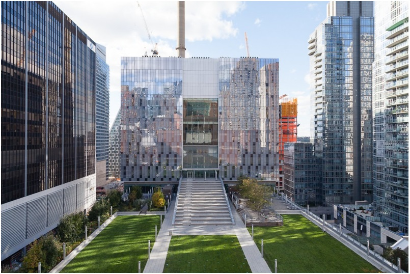 The award-winning New John Jay College building in New York City