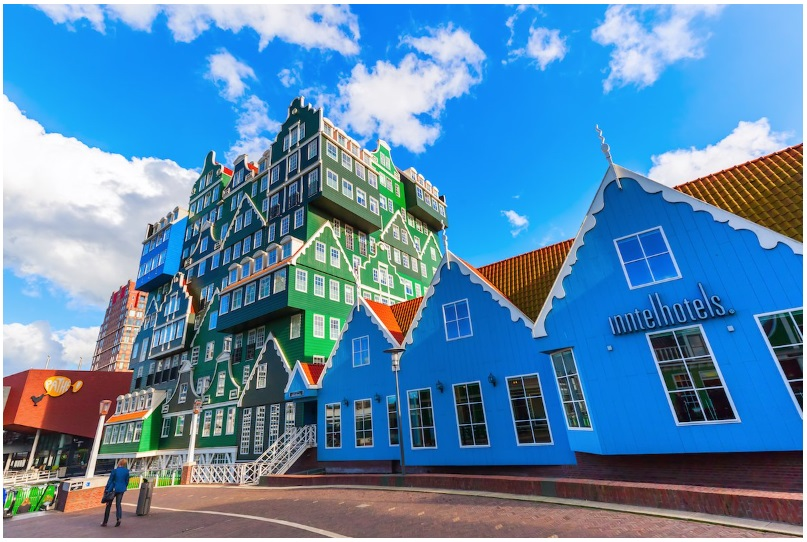 The four-star Inntel Hotel in Amsterdam
