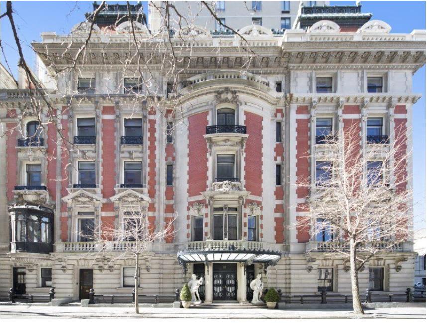 Duke Semans Mansion – Fifth Avenue, Manhattan, New York