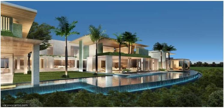 6 Bedroom Emirates Hills Villa With Renaissance Styling, Dubai