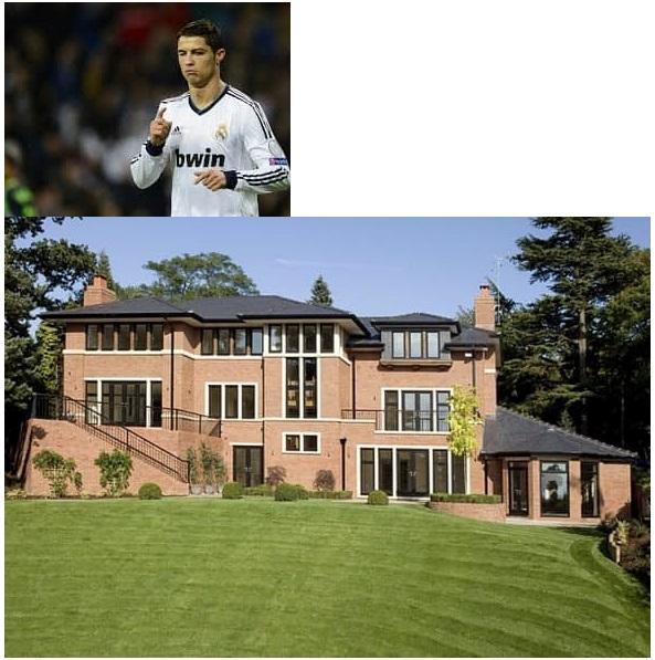 Cristiano Ronaldo. $6 million