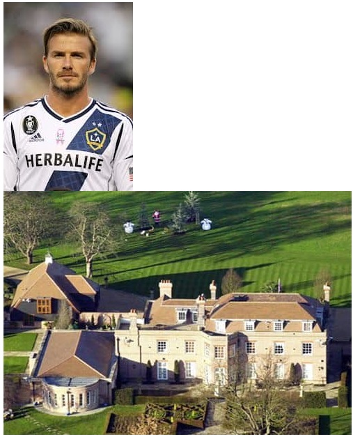 David Beckham $20 Million