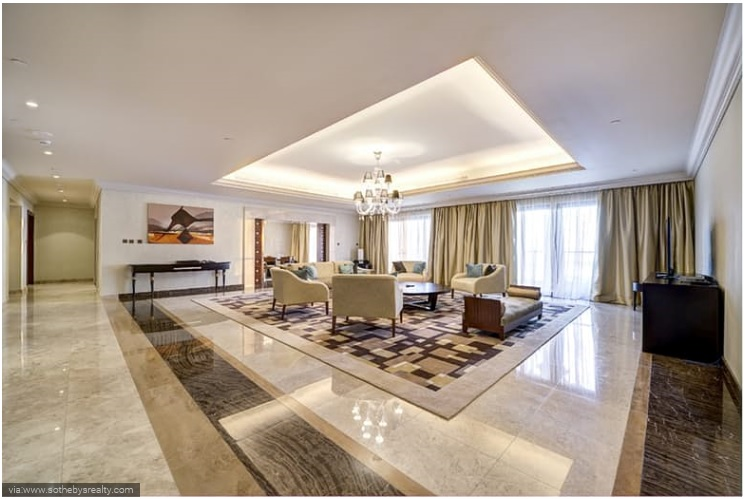 Fairmont Palm Hotel and Resort 3 Bedroom Penthouse