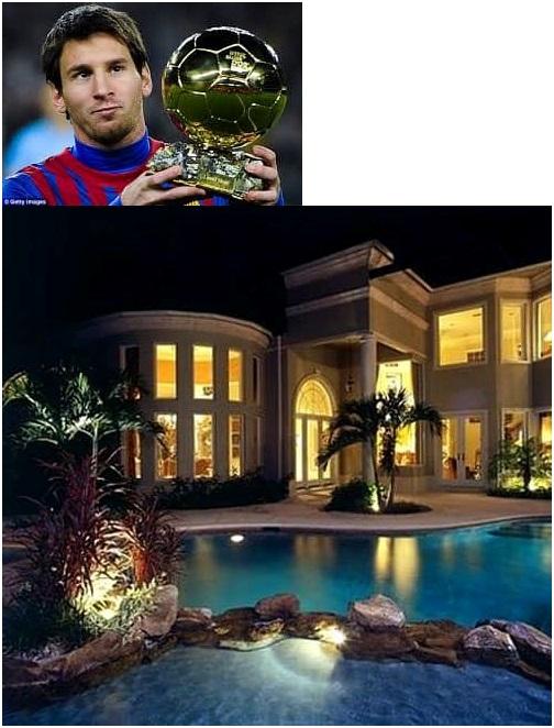 Lionel Messi. $5 Million