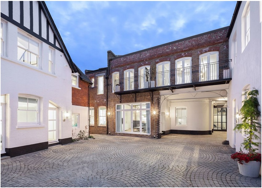 Revamp Transforms Victorian-era Bakery Complex Into 12 Sleek Apartments