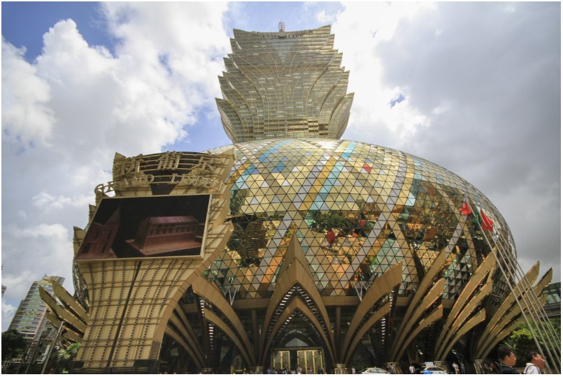 The Grand Lisboa in Macau, China