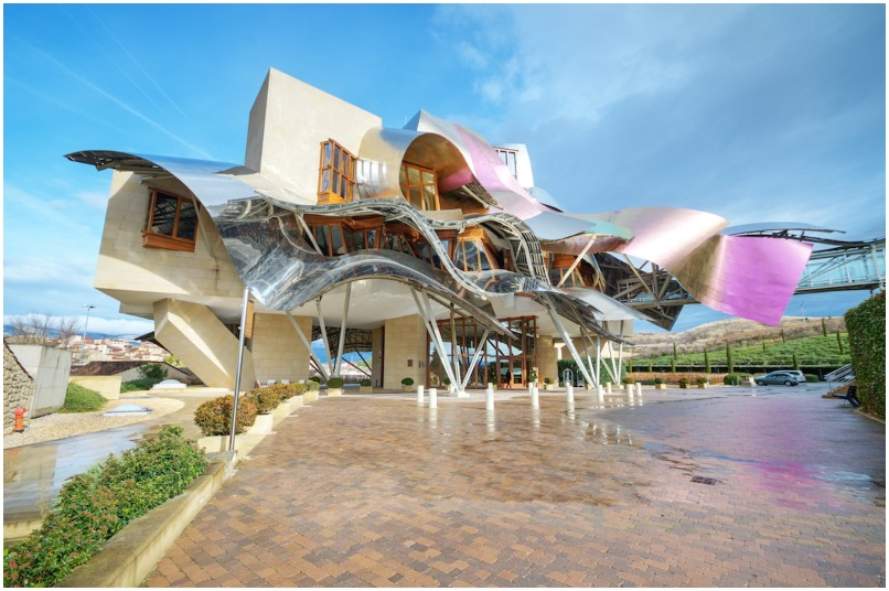 The Marques de Riscal winery in Spain's Basque Country