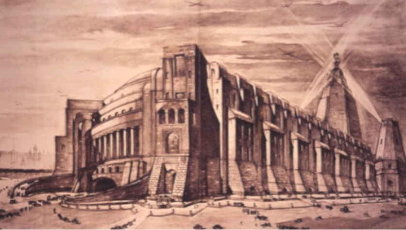 The Palace of the Soviets (1941), Boris Iofan and Vladimir Shchuko