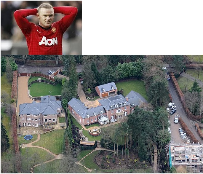Wayne Rooney $17.83 million