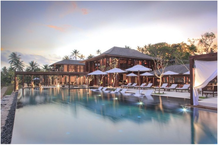 Ani Villas's private resort in Sri Lanka