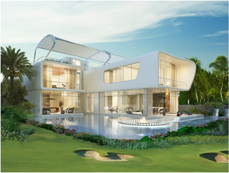 ETTORE 971 Bugatti Villas Look Like a Thing from a Future