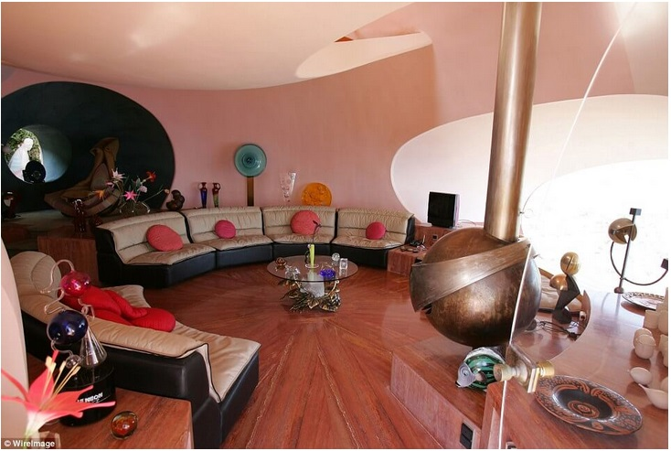 Pierre Cardin's Bubble Mansion