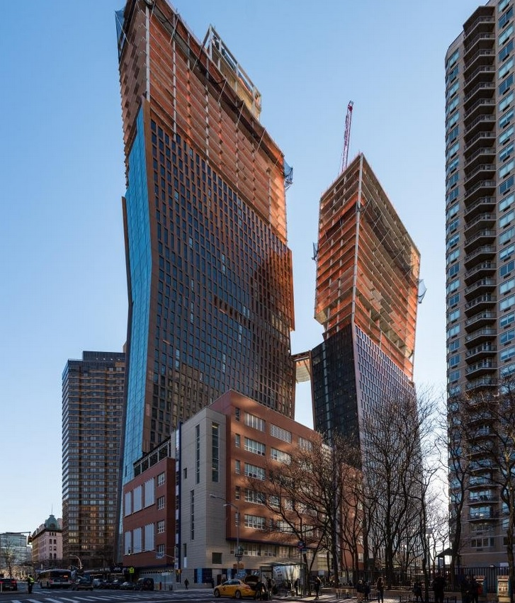 These Luxury Copper Apartments Will Actually Change Colour Over Time