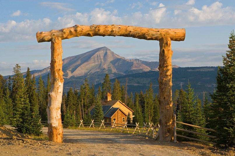 Удивительное место отдыха в Монтане