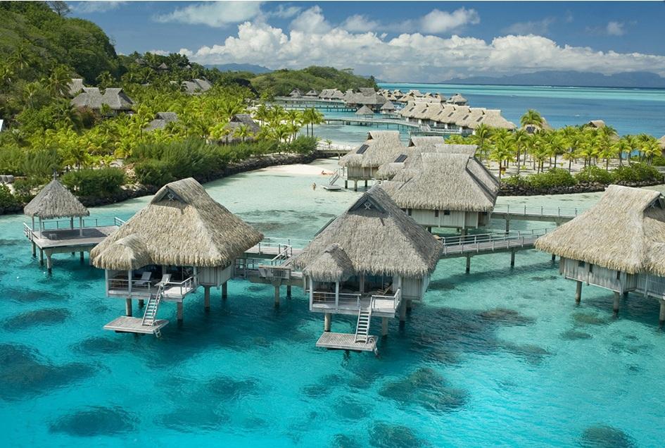 Motu Tane Island, Bora Bora, French Polynesia