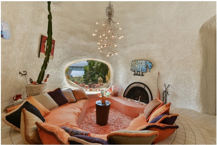 """The """"Flintstone House"""" Can Now Be Yours for $4.2 Million_6"""