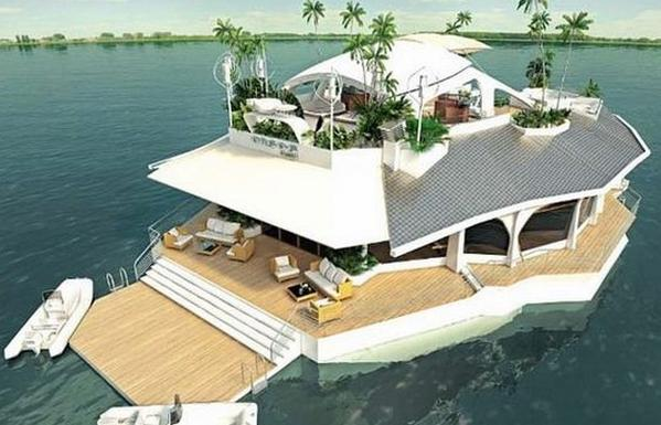The Floating Paradise