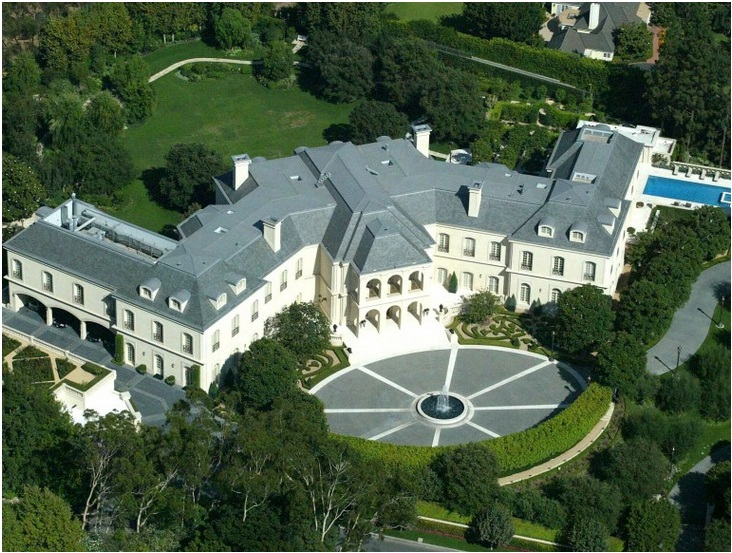 Aaron Spelling's gargantuan LA Manor – Price $150 million