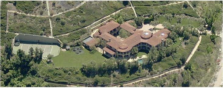 Arnold Schwarzenegger's Brentwood compound – Price $23,000