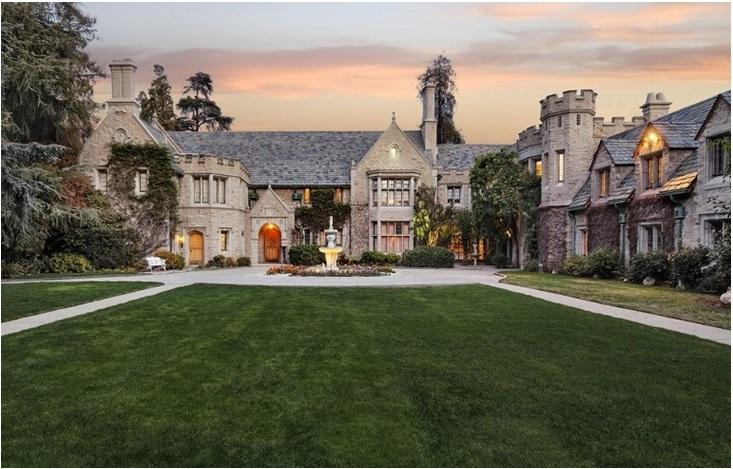 Hugh Hefner's infamous Playboy Mansion – Price $54 million