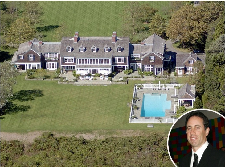 Jerry Seinfeld's Hamptons retreat – Price £32 million