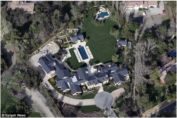 Kim & Kanye's Hidden Hills project – Price $20 million