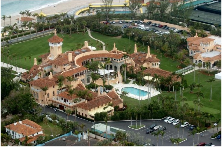 Mar-a-Lago in Florida (Value $250 million)