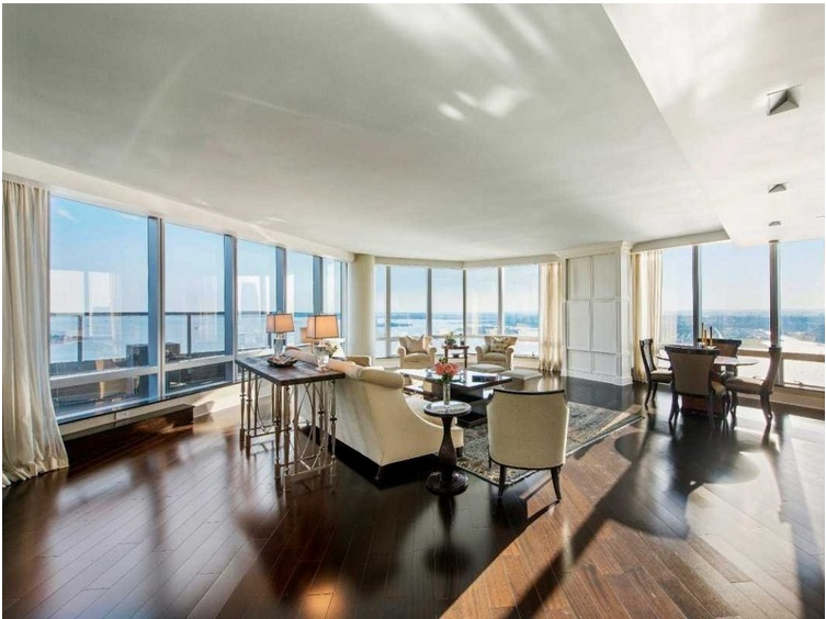 The Ritz-Carlton Penthouse, New York ($118.5 million)