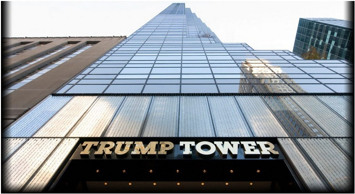 The Trump Tower in New York (Value $460 million)
