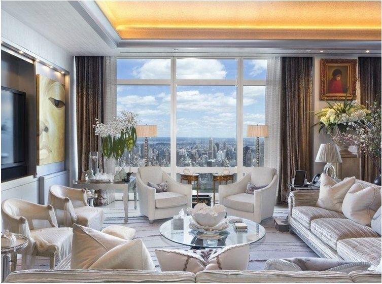 Time Warner Center Penthouse, New York ($50.9 million)