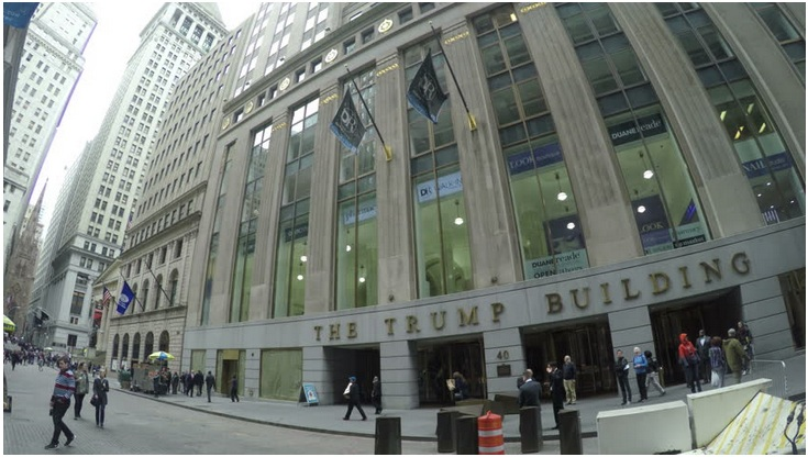 Trump Building in New York (Value $260 million)
