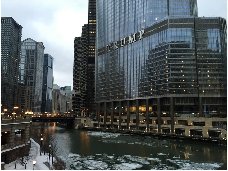 Trump International Hotel and Tower in Chicago (Value $1.2 billion)