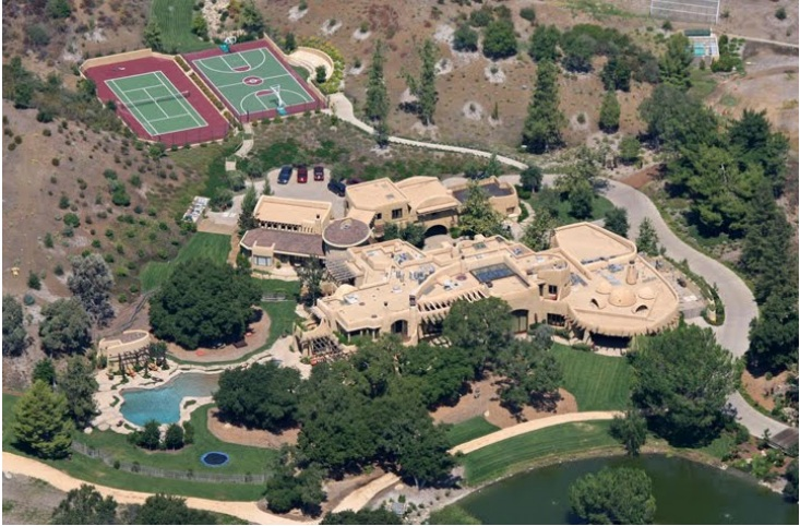 Will Smith's Calabasas castle – Price $20 million