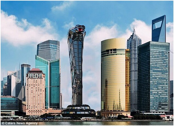 Russian Architect Designs Concept Skyscraper Shaped like A Cobra